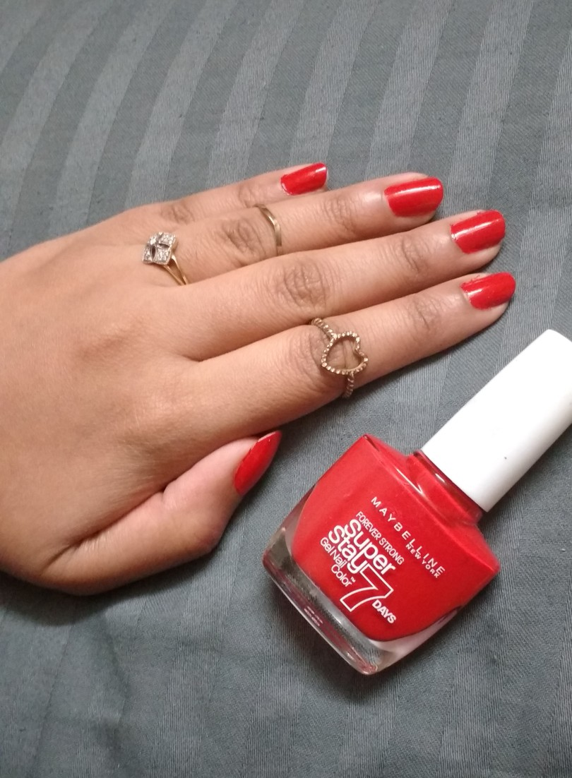 Goodbye to Gel Manicures: Maybelline Super Stay 7 Days Gel Nail ...