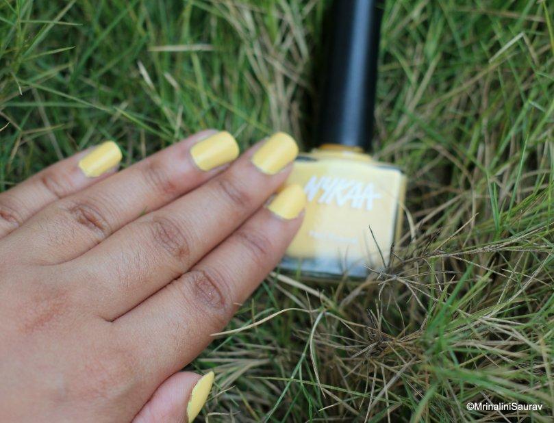 Nykaa Pastel Nail Enamel: Lemon Pudding