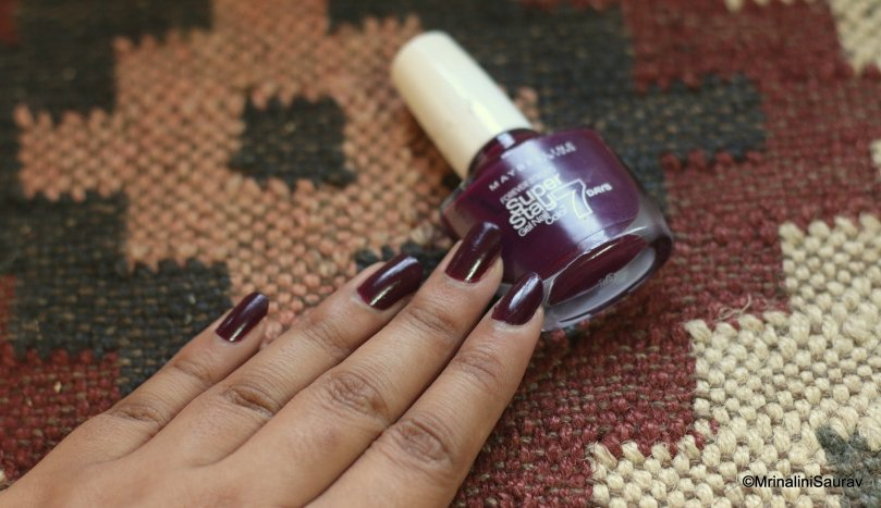 Maybelline Super Stay 7 Days Gel Nail Color in Ever Burgundy ...