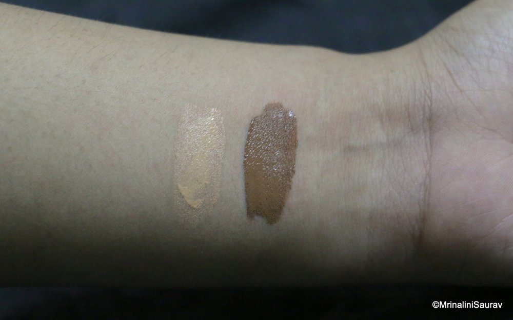 L.A. Pro Conceal HD Concealers Warm Beige Espresso Swatches