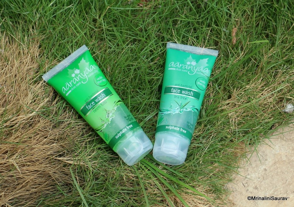 Aaranyaa Neem Tulsi Face Wash Tea Tree Face Wash Review