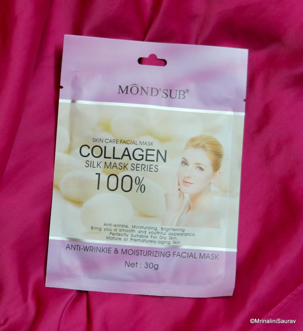 Mond'Sub Collagen Silk Mask Series Anti Wrinkle and Moisturizing Facial Sheet Mask