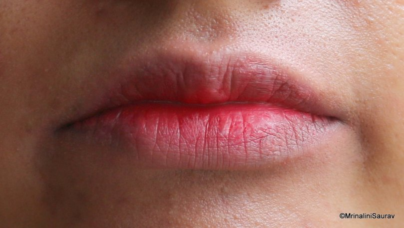 Bitten Lips Makeup Tutorial Step