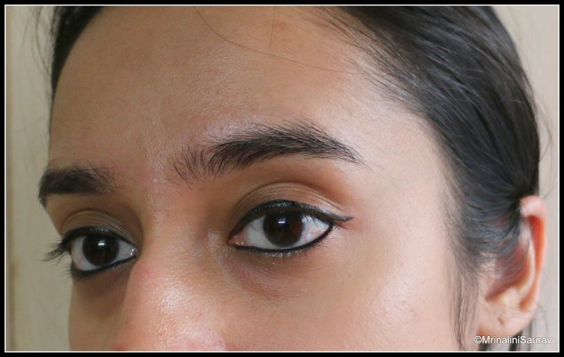 Nykaa Black Magic Liner Review Swatches Try On