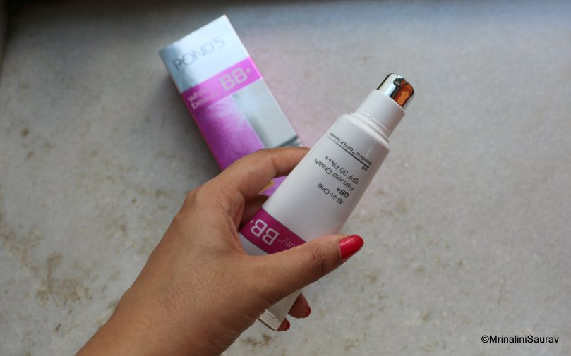 Ponds All in One BB+ Cream Review Swatches