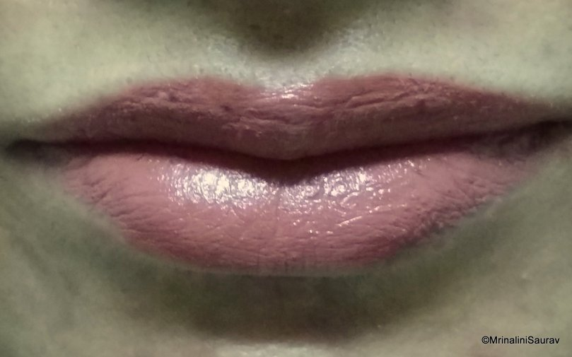 Nykaa So Matte Lipstick Taupe Thrill Lip Swatch Review
