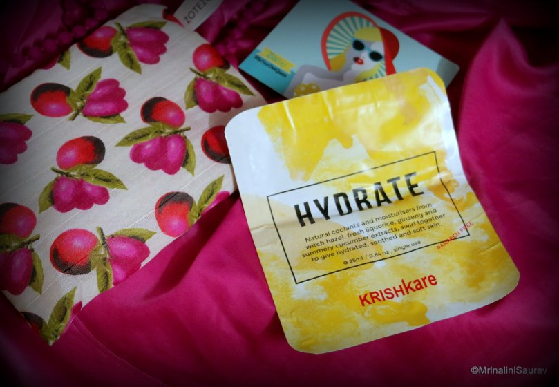 Krishkare Hydrate Sheet Mask ZoBag