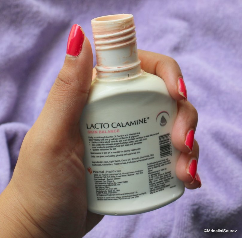 Lacto Calamine Daily Nourishing Lotion Review
