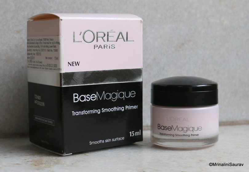 Loreal Paris Base Magique Transforming Smoothing Primer Review