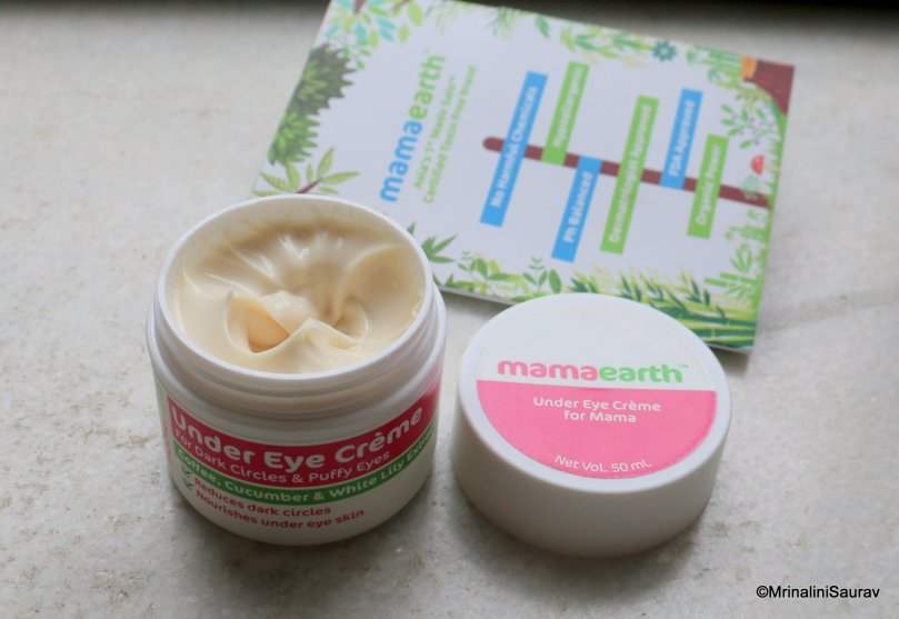 MamaEarth Eye Creme for Mama Review