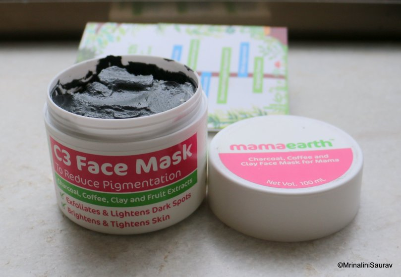 MamaEarth C3 Mask for Mama Review