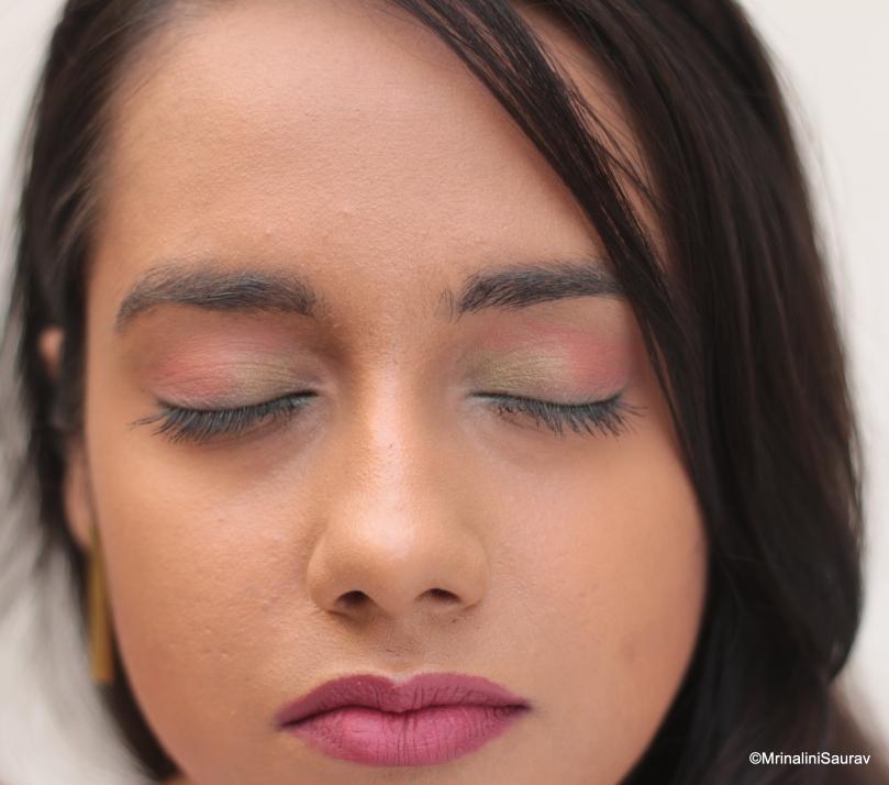 Soft Pink Makeup