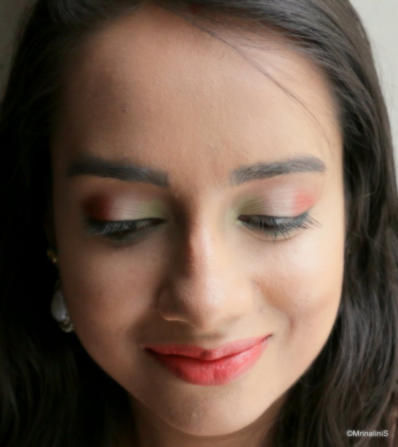 Indian Independence Day Makeup Look Tricolour