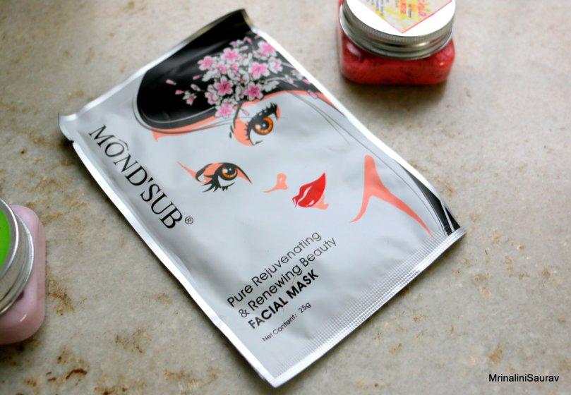 Mond'sub Pure Rejuvenating & Renewing Beauty Facial Mask Review Zobag