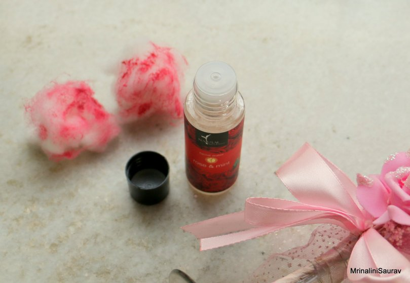 Natural Bath & Body Rose & Mint Facial Water Review