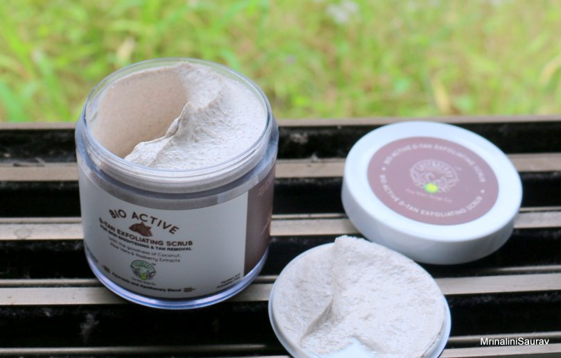 Greenberry Organics Bio Active D-Tan Exfoliating Scrub | Review