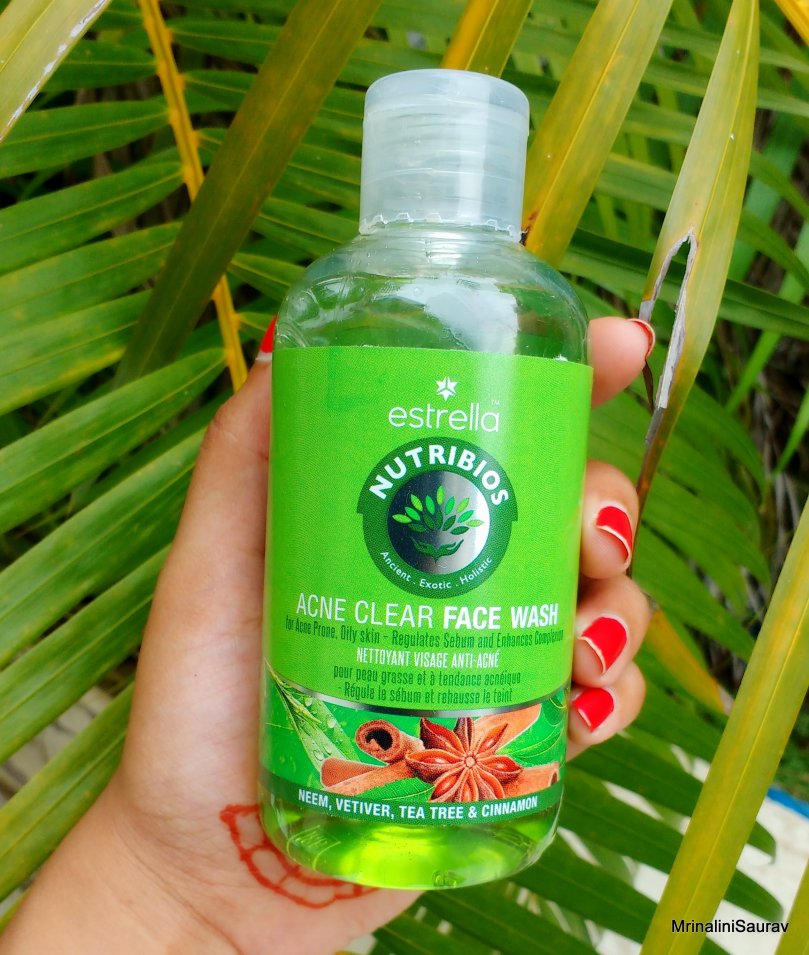 Estrella Nutribios Natural Anti-Acne, Neem Face Wash | Review