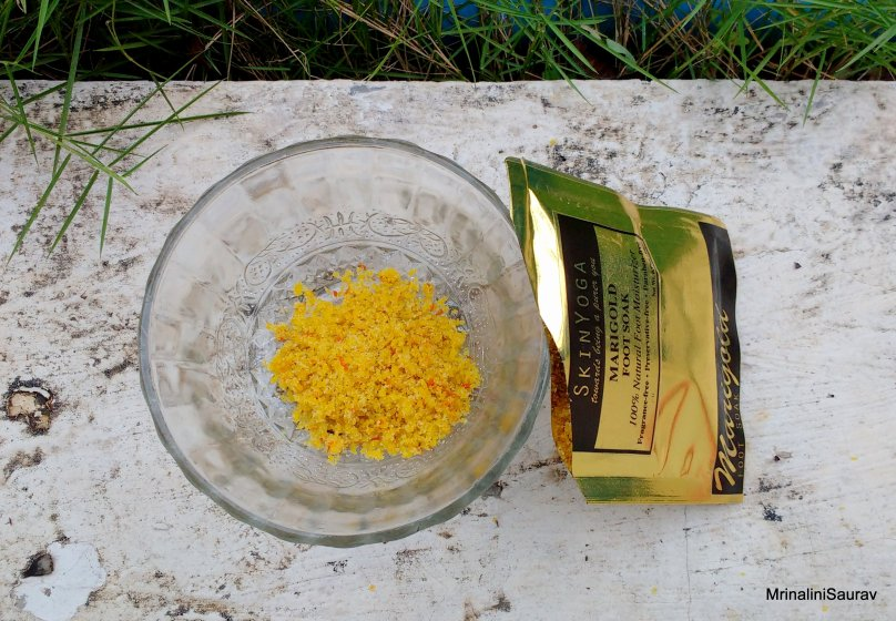 SkinYoga Marigold Foot Soak | Review