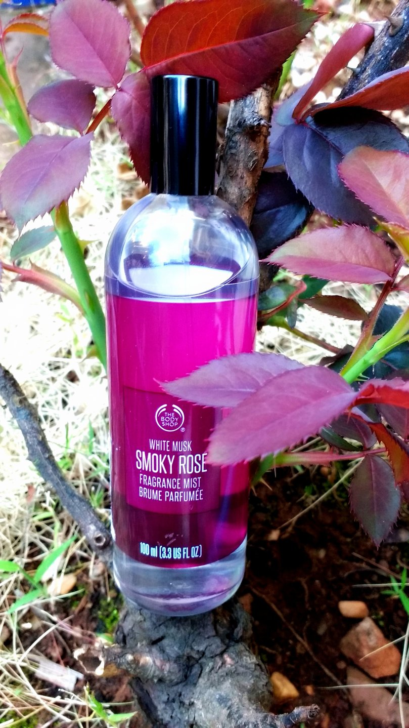 The Body Shop White Musk Smoky Rose Fragrance Mist   Review