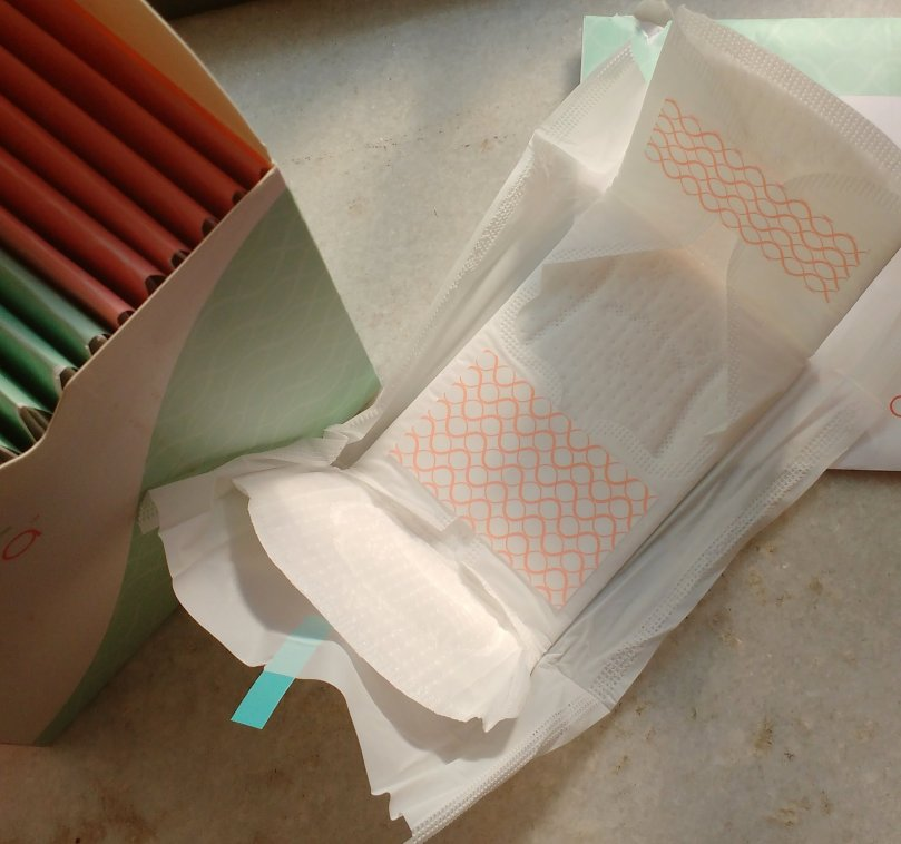 Nua Sanitary Pads Subscription Box   Review