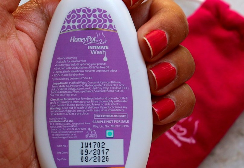 HoneyPot Intimate Wash for Women | Review
