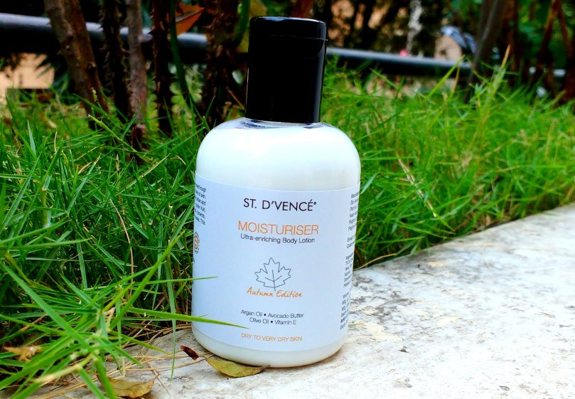 St.D'vence Autumn Edition Moisturiser - Ultra-Enriching Body Lotion | Review