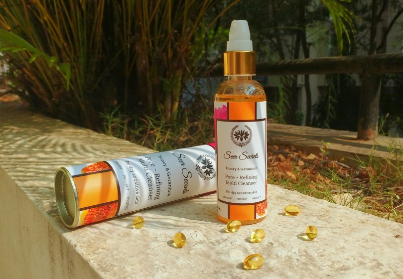 Seer Secrets Honey & Geranium Pore Refining Multi Cleanser | Review