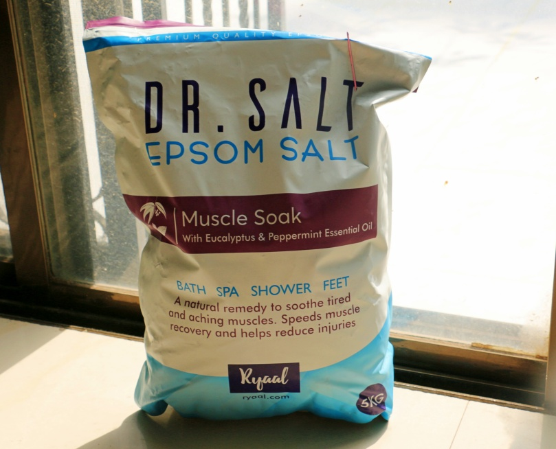 Ryaal Dr. Salt Epsom Salt Muscle Soak | Review