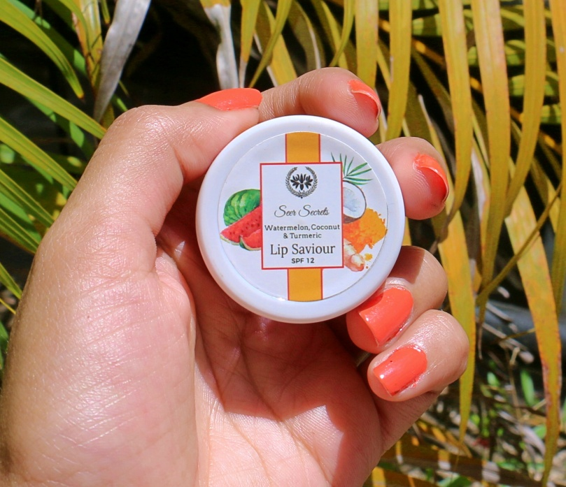 Seer Secrets Watermelon Coconut and Turmeric Lip Saviour | Review