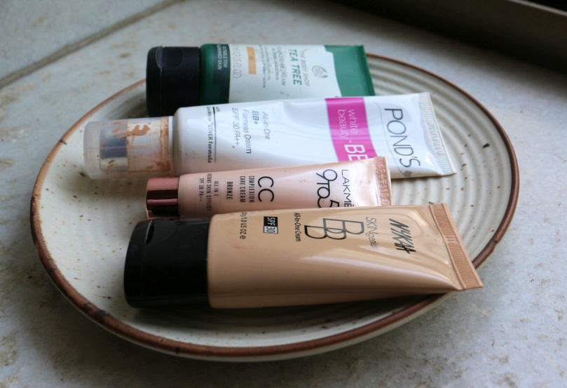 The Battle of the BB Creams/CC Creams | Ponds vs Lakme vs The Body Shop vs Nykaa