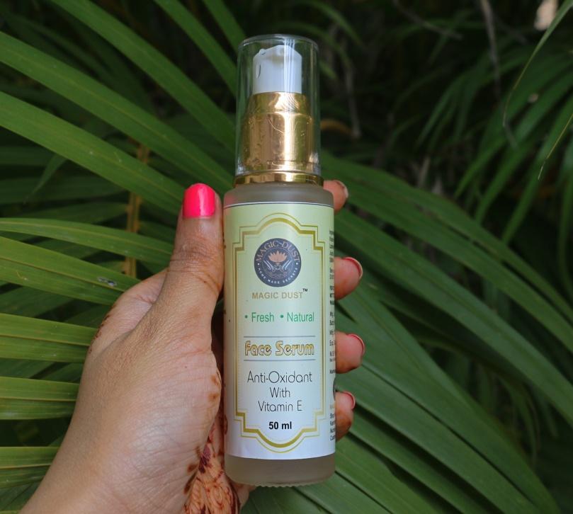 Magic Dust Vitamin E Face Serum   Review