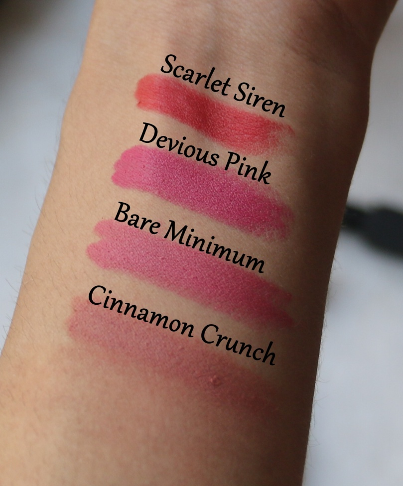 Nykaa So Matte Minis | Review and Swatches