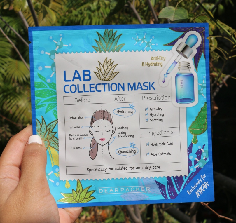 DearPacker Lab Collection Masks | Review