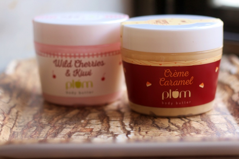 Plum Body Butters - Creme Caramel and Wild Cherries & Kiwi | Review