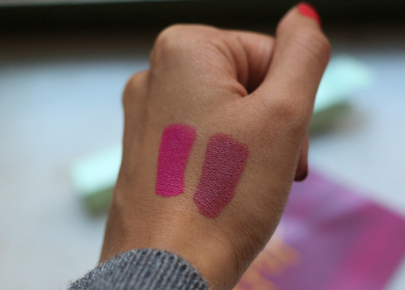 Colourpop Lippie Stix - Lumiere and Heart On   Review