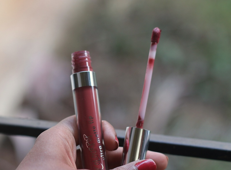 Colourpop Ultra Matte Lipstick - Bumble | Review and Swatches